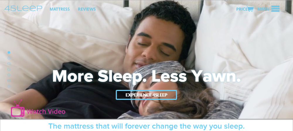 HubSpot web design - 4Sleep