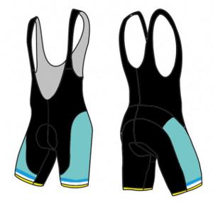 ok go! cycling bibs design