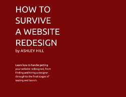 how to survive a website redesign cover