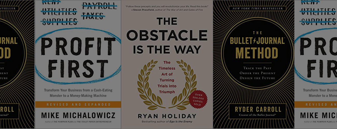 3 Books That Improved My Life (and a Giveaway)